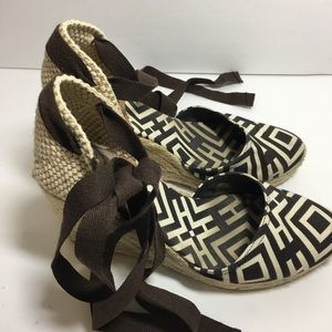 Tory Burch Espadrille Sandals size 35